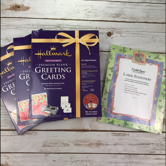 3 Packages Hallmark Greeting Cards Maker New